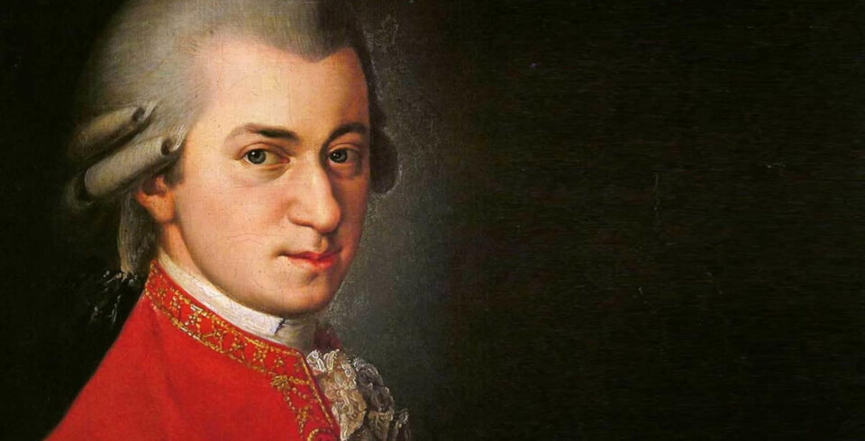 A painting of Mozart