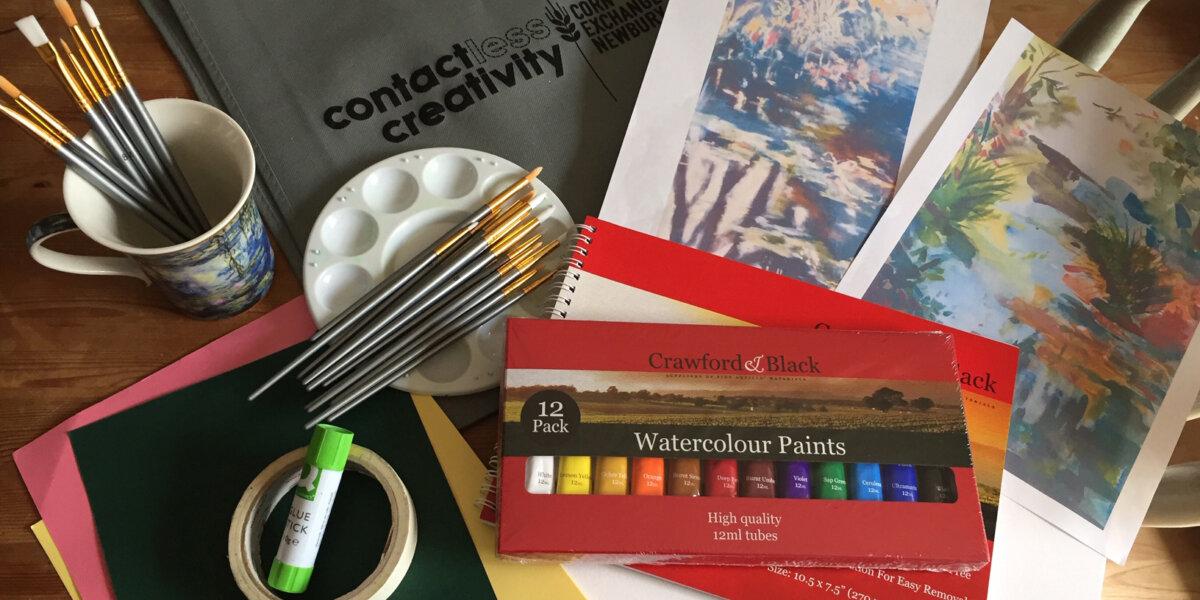 Tanya Reid Contactless Creativity resources